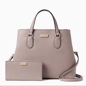 Kate Spade Laurel Way Evangelie Handbag/Wallet Set